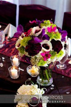 Plum and Silver Wedding Bouquet | wedding design by www.madelinesweddings.com | photo by www.joelross.com | florals by www.thefloralfixx.ca