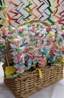 Love these taffy skewers. Will definitely do at the next baby shower I throw!