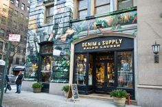 Check out the #ArtWallProject, an epic mural by Jonathan Bartlett only at Denim & Supply at 99 University Place, NYC.