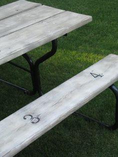 redo picnic table, picnic tables, table redo, picnics, fun outdoor