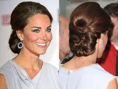 bridesmaid hair, braids, wedding hairs, bridal hair, kate middleton, hairstyl, updo, princess kate, chignon