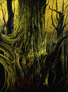 Eyvind Earle, Ancient Tree