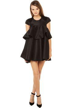 Cameo Shoot Out Dress   Black Dress   Mini Dresses