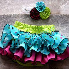 Newborn Ruffle Diaper Cover Newborn Ruffle by HottieTottieGirl, $32.00