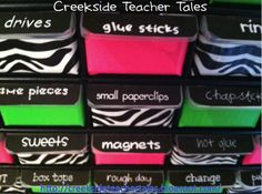 Awesome teacher toolbox...LOVE!