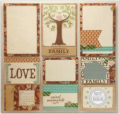An Inside to my Heart...: PML with Family is Forever...#ctmh #stamping #pocketscrapbooking #sotm #layouts #scrapbooking