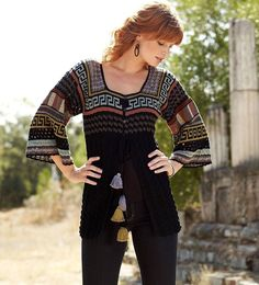 crafts for summer: cardigan for women, free crochet patterns - crafts ideas - crafts for kids
