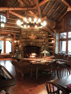 Country Living-rooms from Larry Pearson on HGTV   Now I could spend ALL day here!