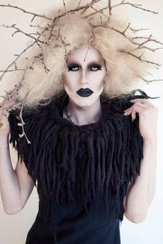 sharon needles.  amazing as always.
