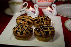 Vegan Vanilla Baby cheesecakes with raisins love by VEGANLOTUS, $16.00