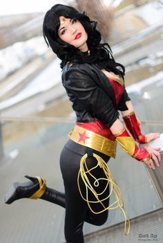 Wonder Woman - My burlesque costume reference