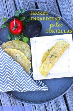 Baked Paleo Tortilla Recipe – Grain-free, Nut-free, Vegan