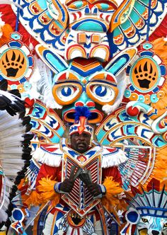 Junkanoo: Nassua's all-night party parade with the color, music, passion, and cultural flair to compete with any carnival around the world.