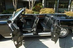1963 Lincoln Continental convertible, with suicide doors. My dream car!!!