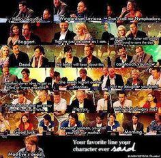 Harry Potter favorite line