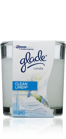 My favorite scent from Glade. Gotta have my Glade candles...