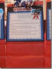 Welcome bag/ Meet the teacher night
