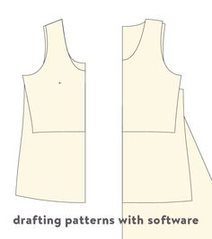 Pattern Drafting Software | Cloth Habit - a blog post discussing software for making sewing patterns at home.