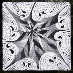 Zentangle: Duotangle Challenge