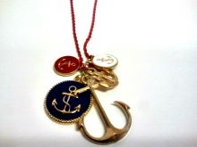 Multi Anchor Necklace |$15.00