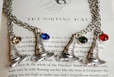 hats, harri potter, hat necklacegryffindor, stuff, harry potter quizes, gifts, sort hat, necklaces, potter sort