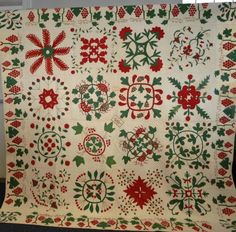 "Quilt signed ""Ann B. Payne Feb 1861,"" Keystone Auctions, LLC, Live Auctioneers"