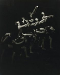 The Isadora Duncan Dancers of Moscow,1929  by Edward Steichen