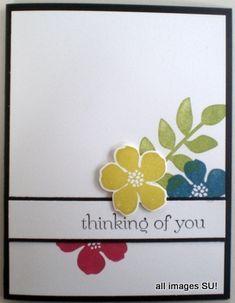 Stampin' Up! Secret Garden Card: In the Mood for Spring!