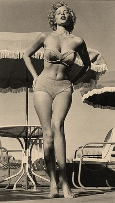 Pin up model and B Movie actress Eve Meyer