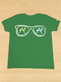 Sunglasses Green Tee