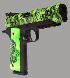 Iver Johnson Zombie 1911 pistol