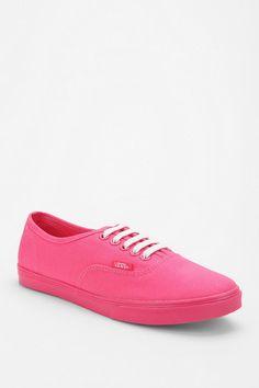 Vans Neon Pink Sneakers
