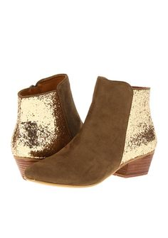 Glitter ankle boots $40