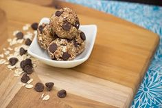 On Fire Fitness Healthy Living : No bake peanut butter energy balls...healthy and satisfying!