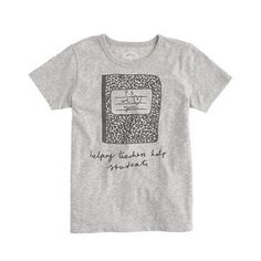 J Crew for Donors Choose: 100% of the profits from this kids' tee go to one of our favorite educational charities.