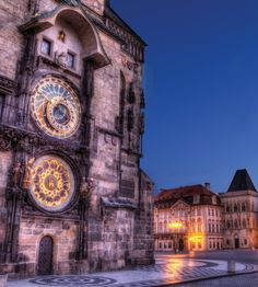 A nighttime stroll through Prague is a surefire recipe for romance.