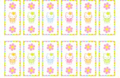FREE HELLO KITTY PRINTABLE MINI CANDY BAR WRAPPERS plus more
