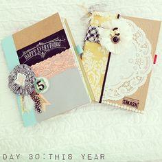 Smashbook cover ideas www.thehouseofsmiths.com #smashbooking #smashbooks