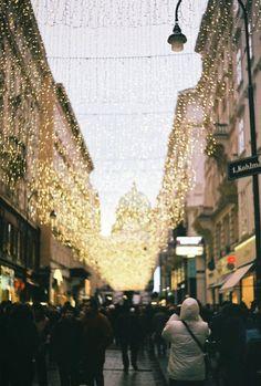 street fairy lights
