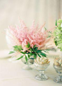 pink astilb, galleries, floral inspir, floral centerpiec, soft pink