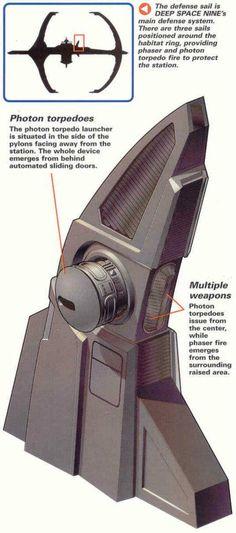 Deep Space Nine weapons sail tower