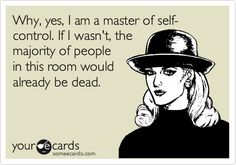 self control, true story