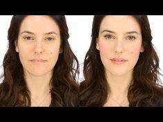 Minimal Makeup Tutorial - Rosy Flush. http://www.lisaeldridge.com/video/22118/minimal-product-make-up-pink-flush/ #makeup #beauty #lisaeldridge