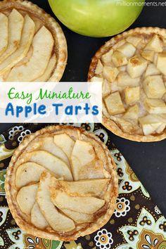 Easy Apple Tarts - A Million Moments #12bloggers