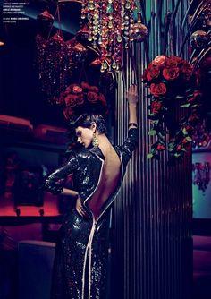 One Night in Bangkok   Saskia de Brauw   Nathaniel Goldberg #photography   V Magazine Fall 2012