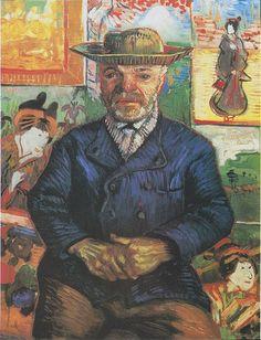 """Vincent van Gogh, Portret """"Ojca"""" Tanguy I, zima 1887/1888"""