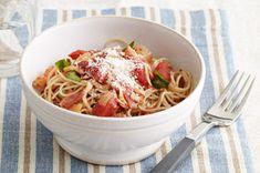 Tomato-Basil Angel Hair Pasta Recipe - Kraft Recipes
