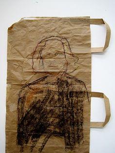 Hollie Harkin: paper bag