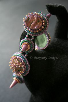 Passion Spikes by Marynikydesigns on Etsy