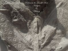 Beautiful Antique Lace Bien Jolie Brassiere  Bra Corset Cover Teens 1920's